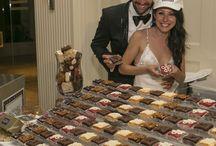 "Weddings / Say ""I Do"" with our amazing Brownie Ice Cream Sundae Bar!"