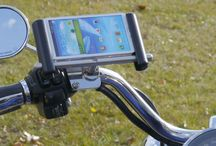 Harley-Davidson Gadgets / How to Mount Phone, GPS, camera and other gadgets on Harley-Davidson