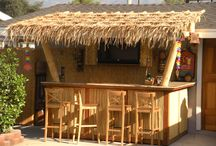 My tiki bar / Our deck