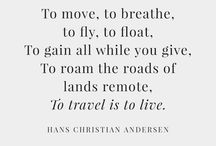 Words for the Wanderer / Get your dose of travel inspiration!