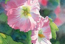 Kwiaty / Kwiaty malowane akwarelą