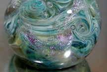 Glass paperweights / Paperweights