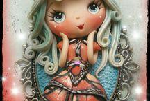 Doll polymer clay