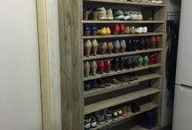 schoenenkast ideeën