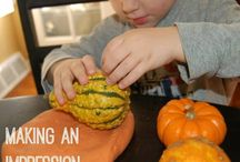 Preschool projects / Tactile play