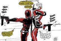 Harley Quinn and Deadpool