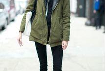 My style. Winter. / Adoro estos outfits de invierno. Éste es mi estilo. Street style.