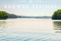 The Cliffs at Keowee Springs / A family-friendly and energetic lakefront community.