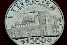 Казахстан монеты тенге тыины