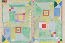 the women of bauhaus / Inspiration from the Bauhaus movement / by Samantha Cisneros