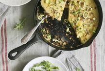 Frittata / On this board I will share all kinds of frittata recipes! I love eggs, and especially with green veggies I enjoy a frittata.