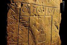 Tartessian and Celtic Stelae