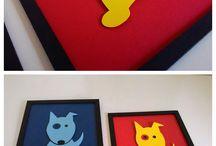 Quadrinhos / Quadrinhos para decoração, lembranças e festas, feitos por encomenda! Fazemos também com outros desenhos e cores, nos tamanhos 16x20cm e no 22,5x31cm.  Contato:  19. 99868-2855 E-mail: beupdesign@gmail.com Skype: beupdesign facebook.com/beupdesign