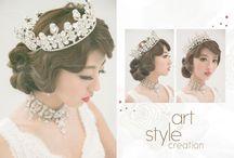 氣質優雅_Elegant hairstyle / #Weddings #Weddingsphotography #Hairstyle http://molding.wswed.com/molding_home/hair.html