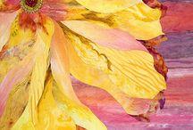 Quilts avec grosses fleurs
