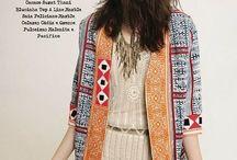 Kimono/tynne bluser