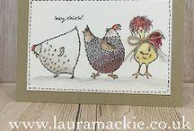 Hey chick stamp set