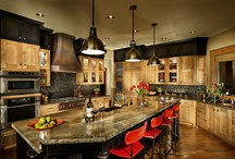 Kitchens Are the Heart / by Terrie Hall T. Hall Interiors