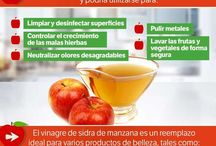 vinagre de manzana, ( muy bueno)