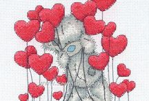 Loved-Up Cross Stitch / Here are all our favourite Wedding and Love themed cross stitch charts and kits. Be inspired and stitch something to make someone's big day even more special - or make a handmade gift for your Valentine