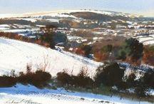 Richard Thorn Paintings / Landscapes that take your breath away.