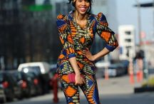 Western & African Print trousers, jumpsuits & skirts