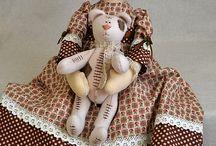 Toys/Textile dolls