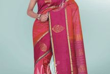 Cotton Blends / Sarees which are blend with pure cotton and silk.
