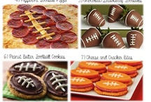 Football Food / One awesome tailgate recipes and appetizers perfect for football season! / by ConsumerQueen