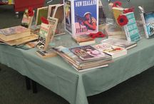 Our library displays