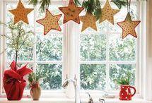 Karácsonyi ablakdísz