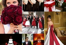 wedding color/red