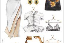 Illustrative fashion