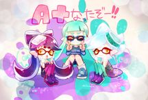 ╭✬Splatoon✬╮ / Are you a Squid or a Kid? 『No son dibujos mios, créditos a quien corresponda.』