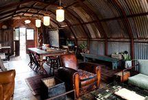 Quonset hut/tiny house interior