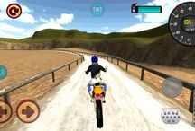 Android game : Motocross CountrySide Drive 3D