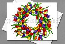 Floral Cards by Carolyn Stich