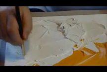 Vidéos : Peinture Acrylique / Retrouvez ici toutes les vidéos de Fred à propos de la peinture acrylique