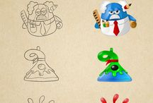 Character Illustrations / by Mark Carroll