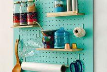 börd / Nuestra marca. Paneles perforados, funcionales, organizadores y decorativos para todos los ambientes de la casa.