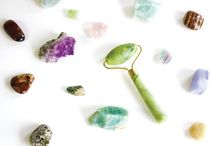 Crystals for Beauty / Crystal beauty regimens were part of every ancient civilization, and now they've made their way into our modern beauty routines as well. Using crystals for beauty not only feels like an at-home spa treatment, but they also provide energetic effects that take our skincare to the next level.