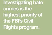 Hate Crimes - Resources & Support