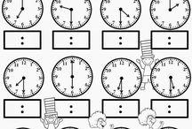 hodiny - čas