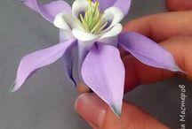 Цветы:фоармин, глина, полимер.
