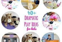 Creativity | Pretend Play / Here are my favorite tips, tricks, ideas, and resources to help you develop creativity and imagination in your kids.