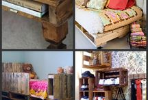 pallet furniture. another obsession. / by Mamasama Case