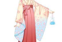 Kagura / Милая главная героиня Гинтамы, на вид хрупкая земная девочка, а на самом деле очень сильная Ято^^