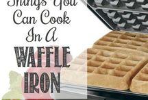 I'm making waffles!