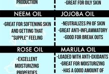 Oils for youthful life