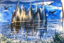 My encaustic painting